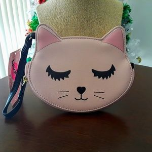 Betsey Johnson Kitty Wristlet